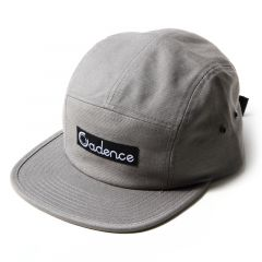 *CADENCE* finn 5 panel hat (grey)