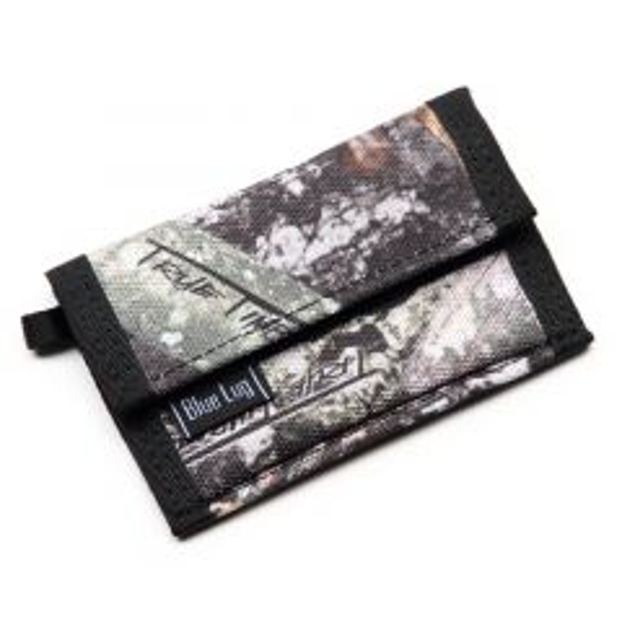 *BLUE LUG* micro wallet (tree camo)