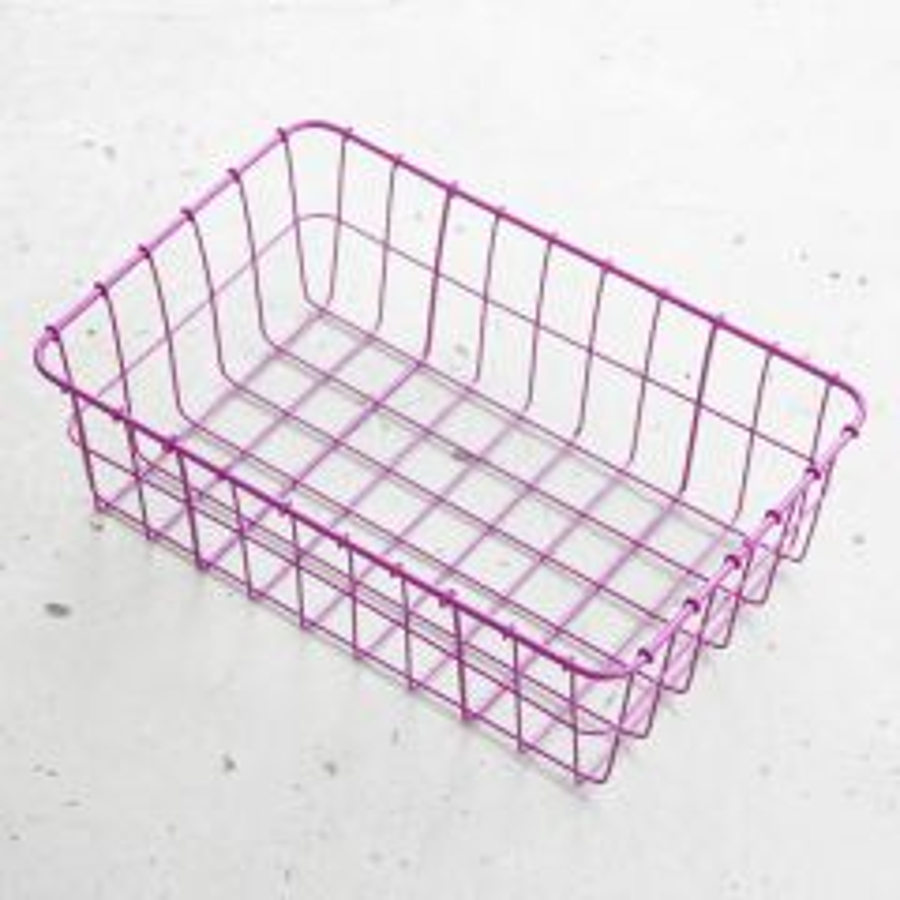 *WALD* 137 basket (purple)