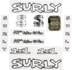 *SURLY* 1×1 frame decal set (clear)
