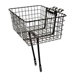 *WALD* giant delivery basket (black)