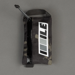*ILE* CATEGORY ONE zippered cycling wallet (multicam black)