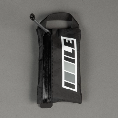 *ILE* CATEGORY ONE zippered cycling wallet (black)