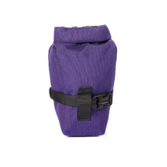 *OUTER SHELL ADVENTURE* rolltop saddlebag (purple)
