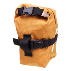 *OUTER SHELL ADVENTURE* rolltop saddlebag (marigold)