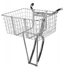 *WALD* giant delivery basket (silver)