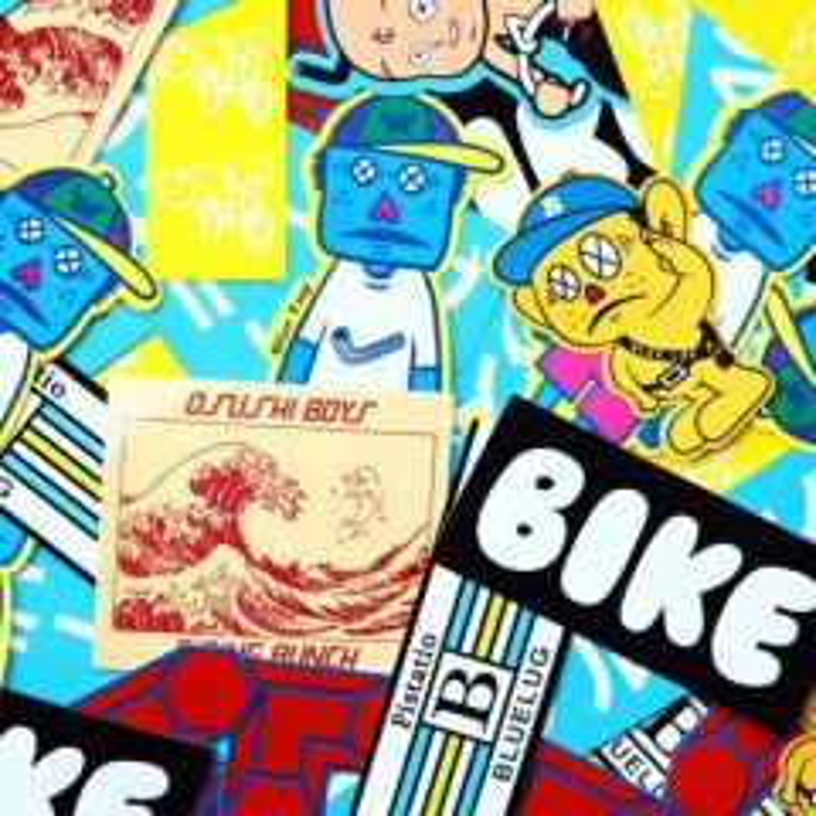 *BLUE LUG* sticker pack
