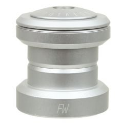 *FAIRWEATHER* headset 1 1/8 (matt silver)
