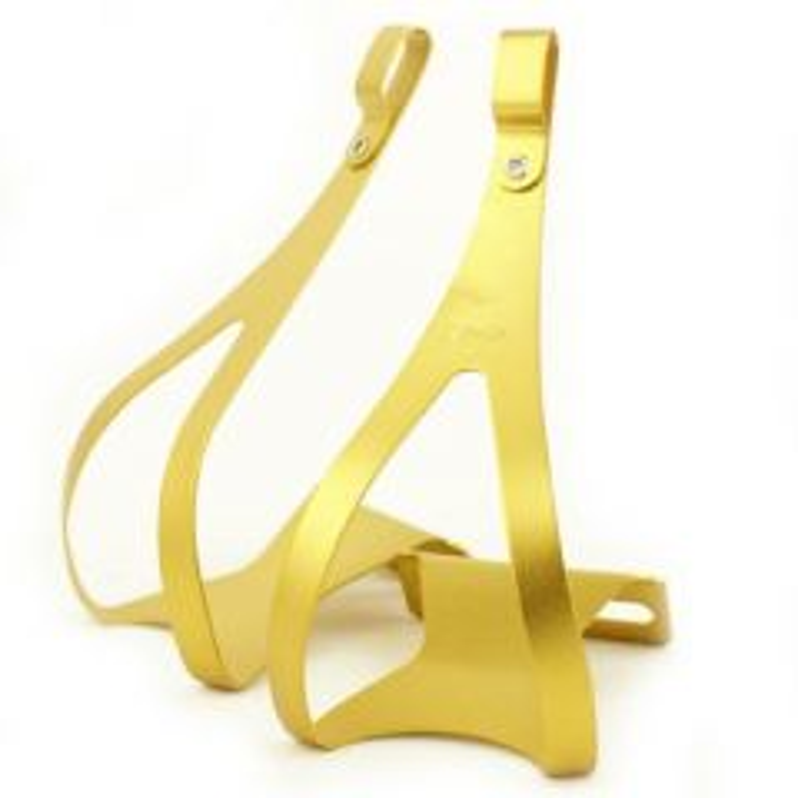 *MKS* alloy toe clip (gold)