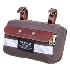*RIVENDELL* sackville saddle sack (XS/dark brown)
