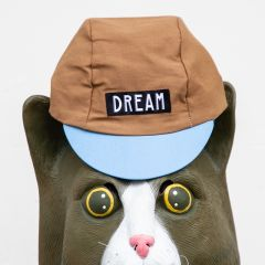 *TEAM DREAM* team + dream cap (brown/blue)