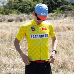 *TEAM DREAM* staple fit jersey (yellow)