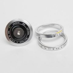 *MASH* zeiss top cap and spacers set (silver)
