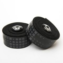 *MASH* binary bar tape + end plug set (black)