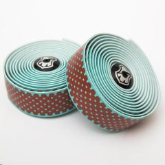 *MASH* gradient bar tape + end plug set (teal/red)