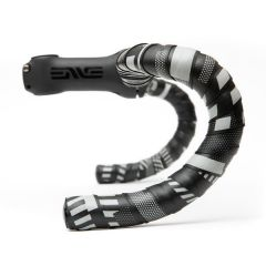 *MASH* gamma bar tape + end plug set (black)