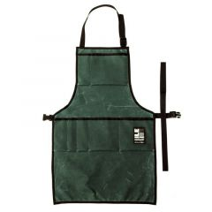*ILE* work apron (waxed forest)
